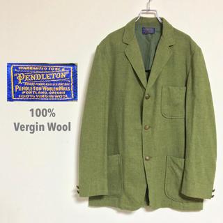 ペンドルトン(PENDLETON)のPENDLETON ペンドルトン 100%バージンウール★3Bジャケット(テーラードジャケット)
