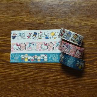 ハローキティ(ハローキティ)のキティちゃん・コラボマスキングテープ3個セット(テープ/マスキングテープ)