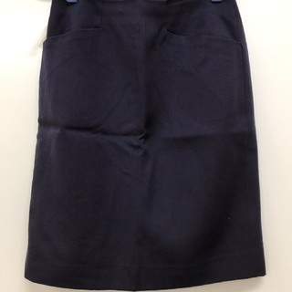 マカフィー(MACPHEE)のマカフィー トゥモローランド ナス紺 タイトスカート(ミニスカート)