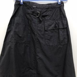 マーガレットハウエル(MARGARET HOWELL)のMHL ダークグレー スカート マーガレットハウエル(ひざ丈スカート)