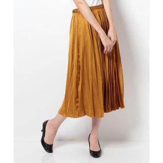 ロペ(ROPE)のロペ  変形デザートプリーツスカート(ロングスカート)