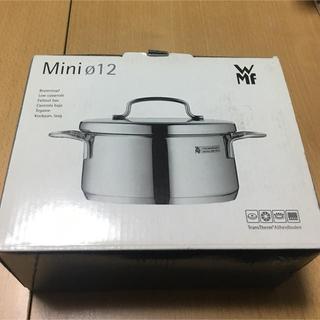 ヴェーエムエフ(WMF)のWMF ミニ ローキャセロール 12cm 未使用保管品(鍋/フライパン)