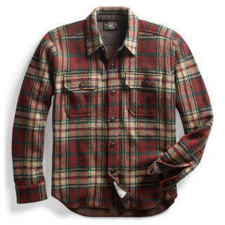 ダブルアールエル(RRL)のRRL ニットシャツ ほぼ新品 XS(シャツ)