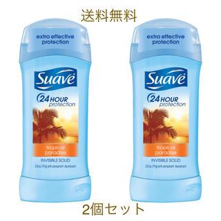 ユニリーバ(Unilever)のSuave トロピカル パラダイス デオドラント スティック 2個セット(制汗/デオドラント剤)