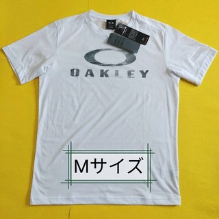 オークリー(Oakley)の【新品】OAKLEY オークリー Tシャツ Mサイズ 吸汗速乾性/UPF50+(Tシャツ/カットソー(半袖/袖なし))