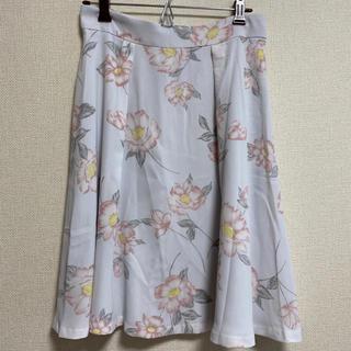 デビュードフィオレ(Debut de Fiore)のデビュードフィオレ♡花柄スカート(ひざ丈スカート)