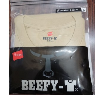 ヘインズ(Hanes)のヘインズ ビーフィー Tシャツ メンズ サイズL(Tシャツ/カットソー(半袖/袖なし))