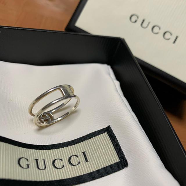 Gucci(グッチ)の【値下げ‼︎】GUCCI インターロッキングG 13号 リング レディースのアクセサリー(リング(指輪))の商品写真