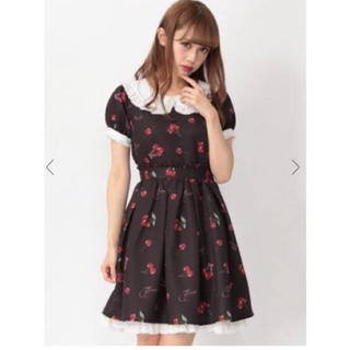 Ank Rouge - ハートロゴチェリーOP いちご さくらんぼ ワンピース