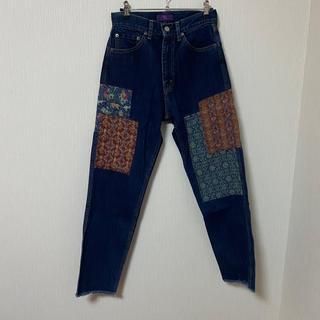 ヨウジヤマモト(Yohji Yamamoto)のY's 19ss patchwork denim pants(デニム/ジーンズ)