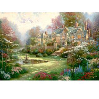 Disney - 1000ピース 春の庭 マイクロピース (26x38cm)