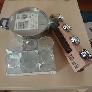 イケア(IKEA)の新品 IKEAイケア 新生活 鍋3個セットなど(鍋/フライパン)