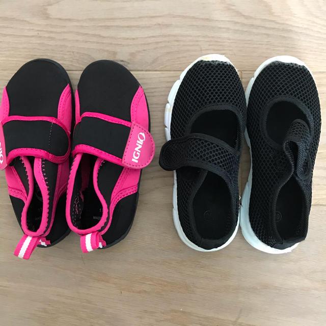 マリンシューズ サンダル キッズ/ベビー/マタニティのキッズ靴/シューズ(15cm~)(アウトドアシューズ)の商品写真