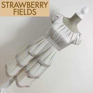 ストロベリーフィールズ(STRAWBERRY-FIELDS)のストロベリーフィールズ フォーマルドレス ワンピース(ミディアムドレス)