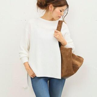 ドゥーズィエムクラス(DEUXIEME CLASSE)のアメリカーナ ♡白サーマルカットソー !(Tシャツ/カットソー(七分/長袖))