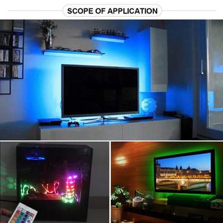 大人気!取付超かんたん^_^液晶テレビ RGB LED 間接照明 バックライト(車内アクセサリ)