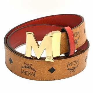 エムシーエム(MCM)のMCM モノグラム レザー ベルト(ベルト)