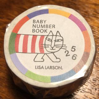 リサラーソン(Lisa Larson)の★LISA LARSON マスキングテープ BABY NUMBER BOOK★(テープ/マスキングテープ)
