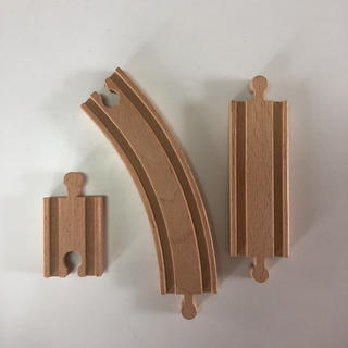 タカラトミー(Takara Tomy)のきかんしゃトーマス☆木製線路 特別レール 3個(鉄道模型)