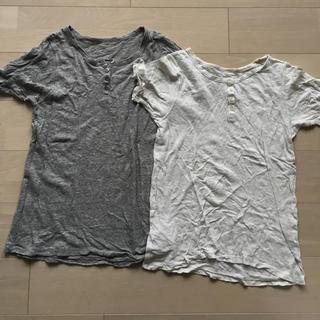 ネストローブ(nest Robe)のnestRobe Tシャツ グレー(Tシャツ/カットソー(半袖/袖なし))