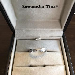 サマンサティアラ(Samantha Tiara)のSamanthaTiara 18金ホワイトゴールドリング(リング(指輪))