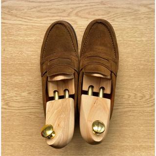 チャーチ(Church's)のJ.M.WESTON ローファー ブラウン スウェード(ローファー/革靴)