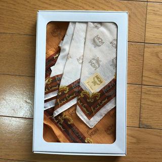 エムシーエム(MCM)の新品☆MCM ハンカチ 2枚(ハンカチ)
