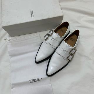 トーガ(TOGA)のTOGA PULLA  トーガプルラ  ダブルバックルシューズ  モンクシューズ(ローファー/革靴)