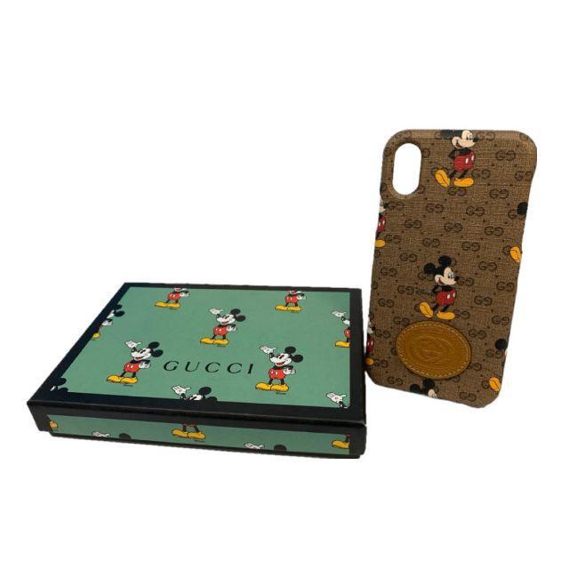 Gucci - グッチ ディズニー iPhoneX/XSケース 602551(0146-02)の通販