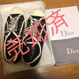 Christian Dior - ディオール Dior ローカット スニーカー 2日着用 愛沢えみり着用