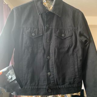 アメリカンアパレル(American Apparel)のAmerican Apparel デニムジャケット 黒(Gジャン/デニムジャケット)