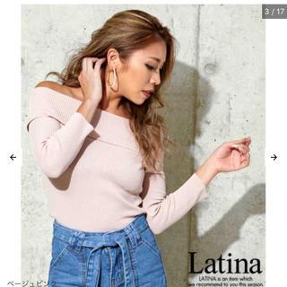 アナップラティーナ(ANAP Latina)のANAP タイトニットトップス(ニット/セーター)