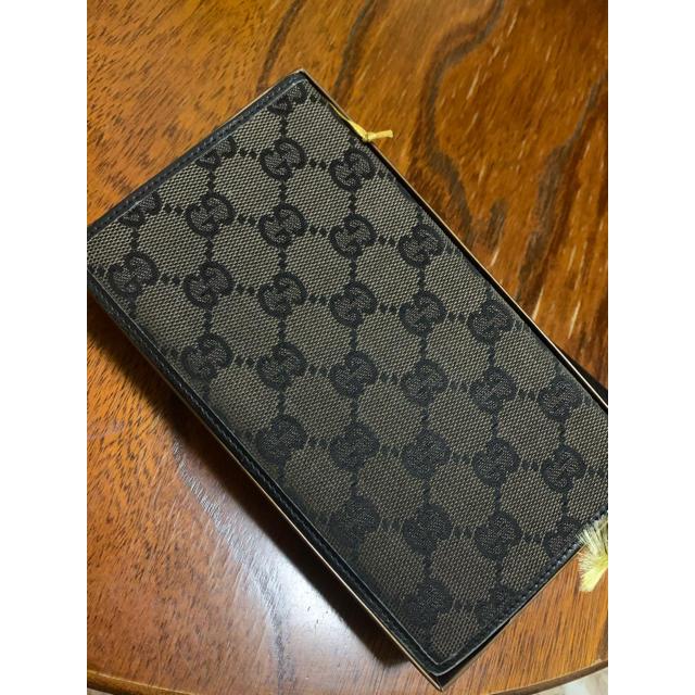 Gucci(グッチ)の[美品] GUCCI 手帳カバー GGキャンバス キャンバス×レザー 中古 メンズのファッション小物(手帳)の商品写真
