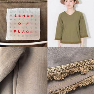 SENSE OF PLACE by URBAN RESEARCH - SENSE OF PLACE トップス