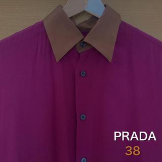 プラダ(PRADA)のPRADA メンズ 絹シャツ(シャツ)