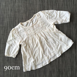 SM2 - SM2 女の子白カットソー
