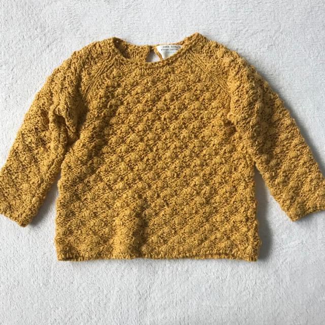 ZARA KIDS(ザラキッズ)のニット セーター キッズ/ベビー/マタニティのキッズ服女の子用(90cm~)(ニット)の商品写真
