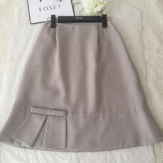 René - 美品★Rene ルネ★ リネン★春夏スカート 34