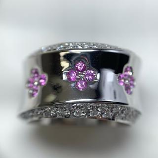 ポンテヴェキオ(PonteVecchio)のポンテヴェキオ サファイア ダイヤモンド リング(リング(指輪))