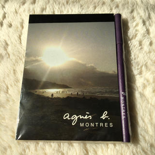 アニエスベー(agnes b.)の新品‼️アニエス・ベー メモ帳 ボールペン(ペン/マーカー)