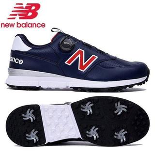 ニューバランス(New Balance)の28cm【新品】ニューバランス ダイヤル式ゴルフシューズ ネイビー(シューズ)