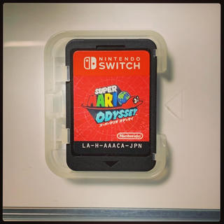 ニンテンドースイッチ(Nintendo Switch)のマリオオデッセイ【ケース無し】(家庭用ゲームソフト)