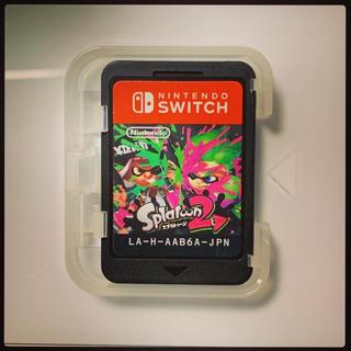ニンテンドースイッチ(Nintendo Switch)のスプラトゥーン2 【ケース無し】(家庭用ゲームソフト)