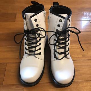 ブーツ L 新品 白(ブーツ)