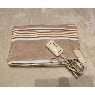 アイリスオーヤマ(アイリスオーヤマ)のアイリスオーヤマ 電気しき毛布 EHB-1913-T  2018年製(電気毛布)