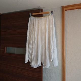 アバハウスドゥヴィネット(Abahouse Devinette)のAbahause  プリーツスカート(ひざ丈スカート)