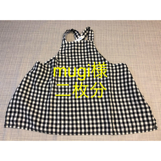 フォグリネンワーク(fog linen work)のfog linen work  kids エプロン(お食事エプロン)