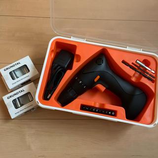 イケア(IKEA)の電動ドライバーセット コードレス(工具/メンテナンス)