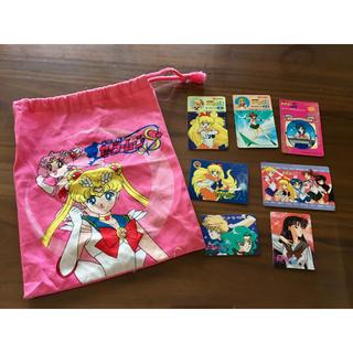 セーラームーン(セーラームーン)の美少女戦士セーラームーン カード ・巾着 諸々セット 当時品(カード)