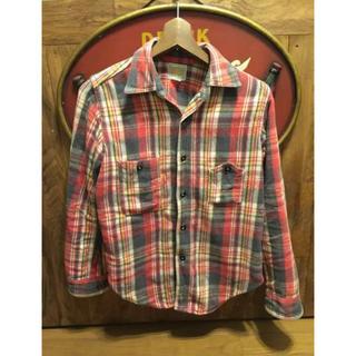 ザリアルマッコイズ(THE REAL McCOY'S)のネルシャツ ブートレガーズ  サイズ14 フリーホイラーリアルマッコイズ(シャツ)
